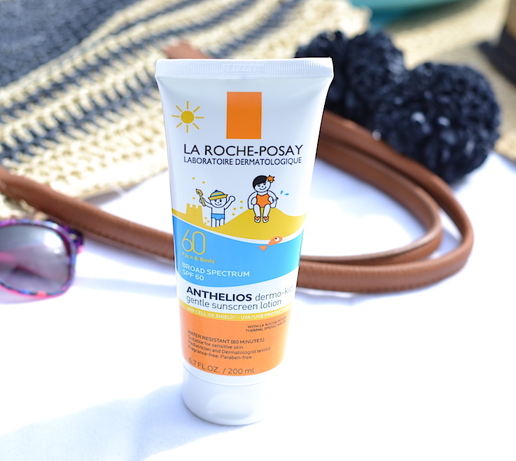 Looking for a gentle sunscreen for your kids? La Roche-Posay Anthelios Dermo-Kids SPF 60 provides broad-spectrum UVA/UVB protection and contains ingredients specifically selected for children's sensitive skin.