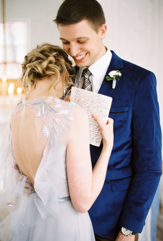 Reading own vows