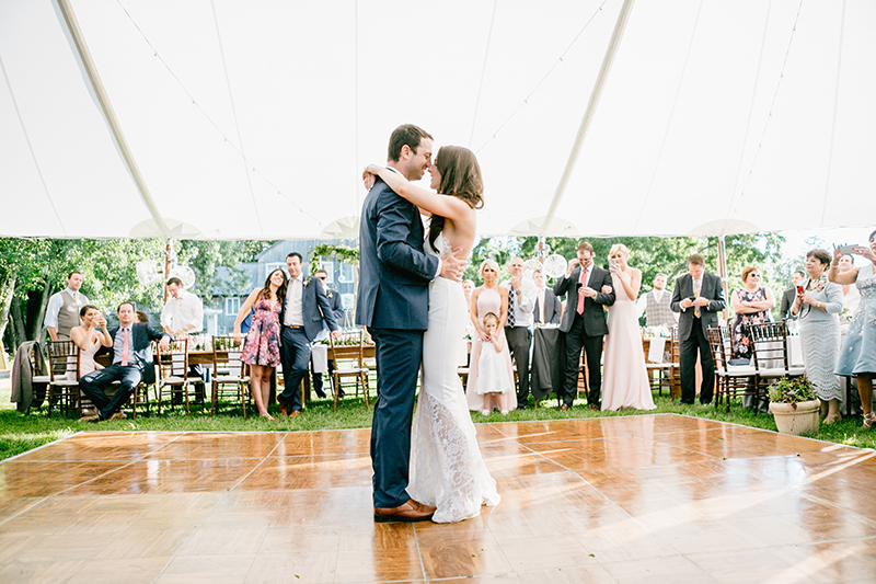 wedding dances - photo by Emily Wren Photography http://ruffledblog.com/bright-beautiful-summer-wedding-with-geometric-accents