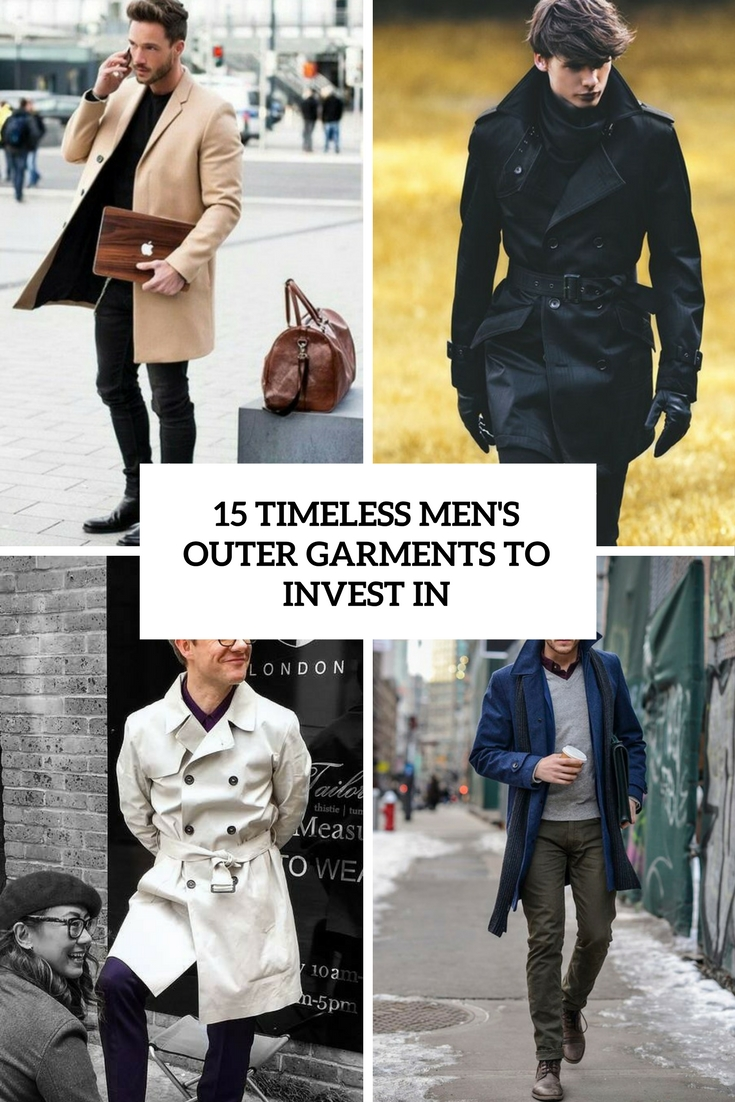 timeless men's outer garments to invest in cover