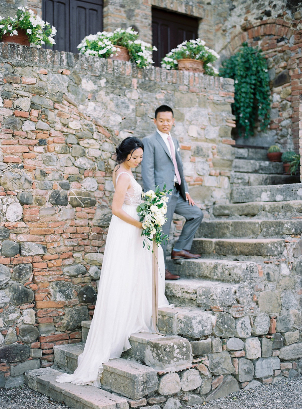 Classically Beautiful + Intimate Wedding in Tuscany - photo by Katie Grant Photography http://ruffledblog.com/classically-beautiful-intimate-wedding-in-tuscany
