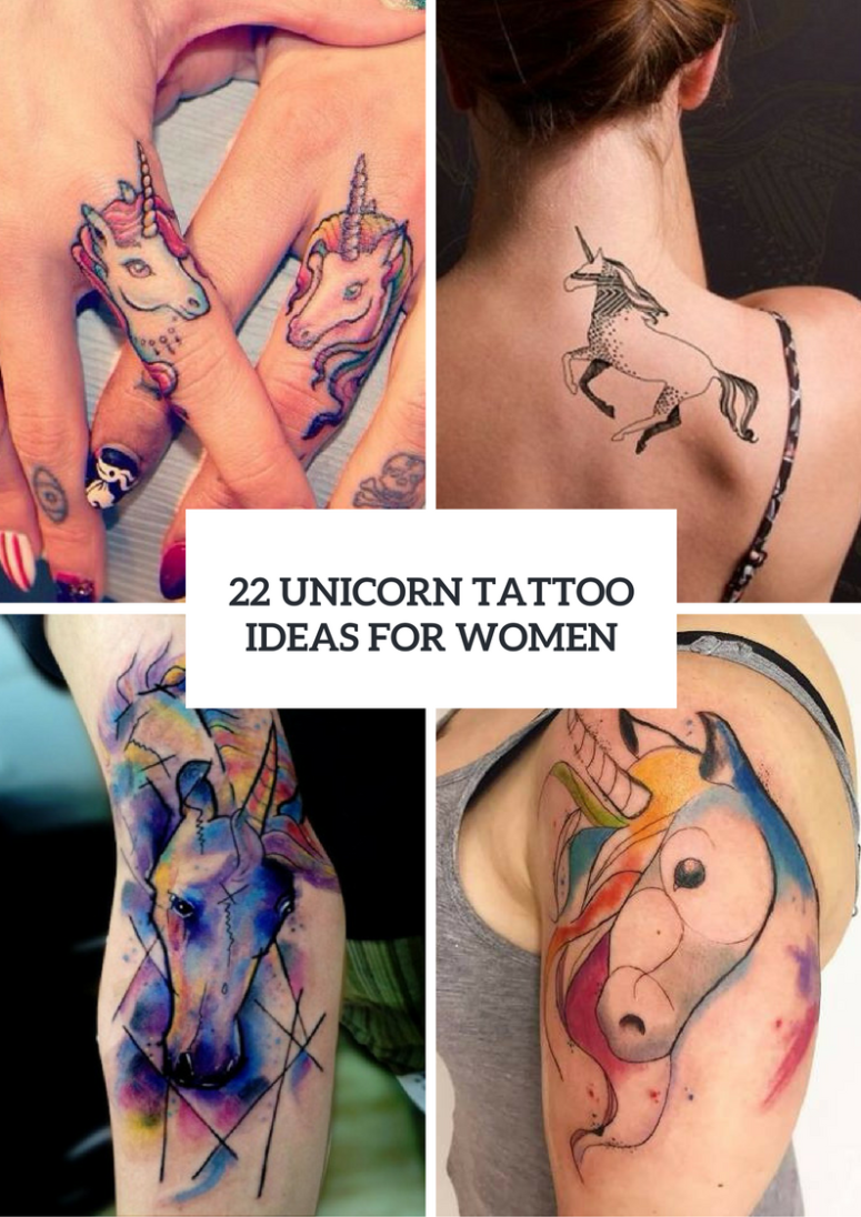 Magical Unicorn Tattoo Ideas For Girls