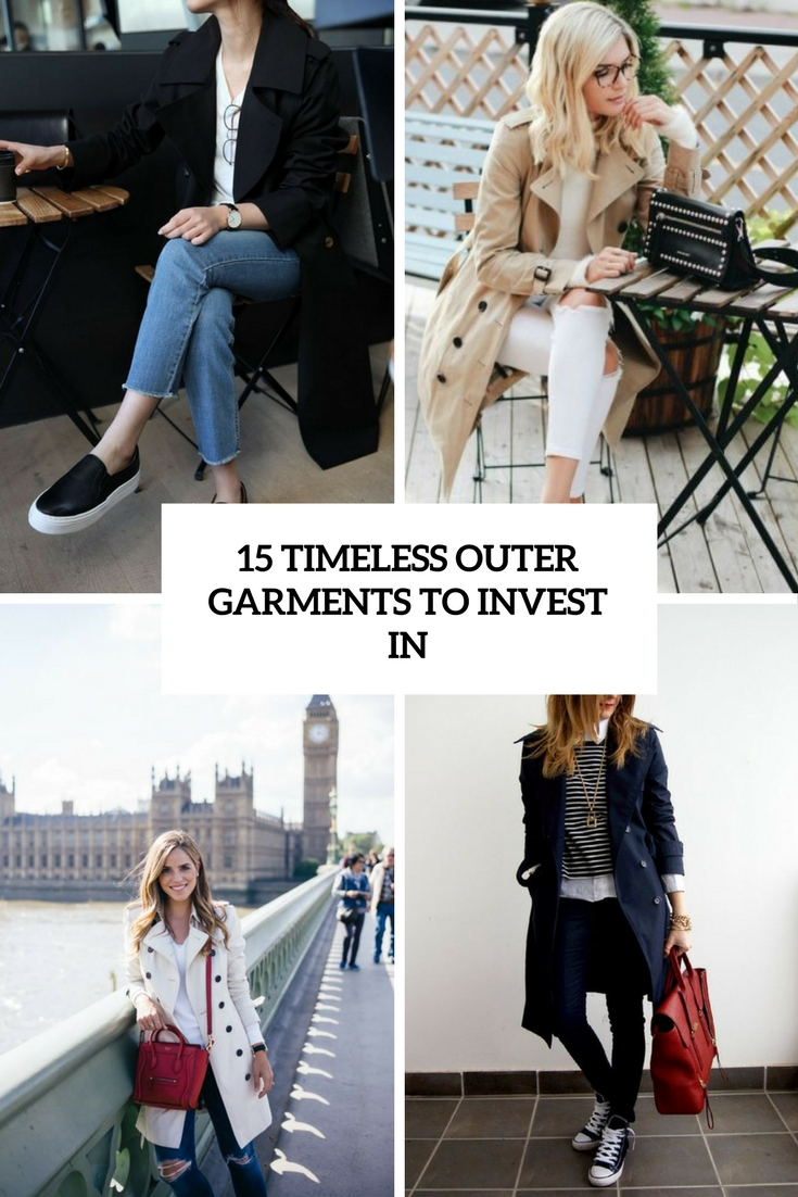timeless outer garments to invest in cover