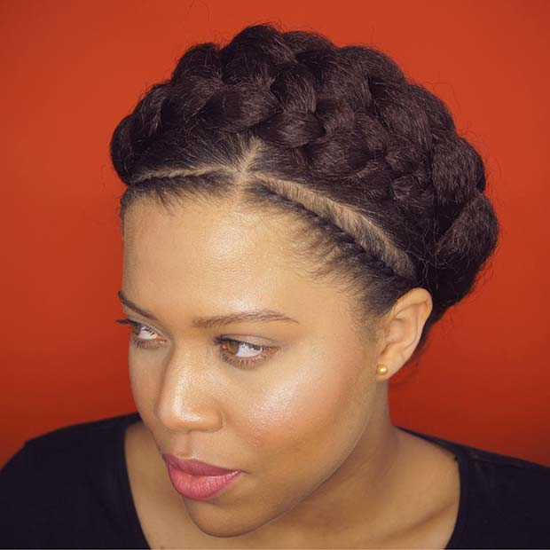 Double Goddess Braid for Summer Protective Styles for Black Women