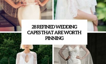 refined wedding capes that are worth trying cover