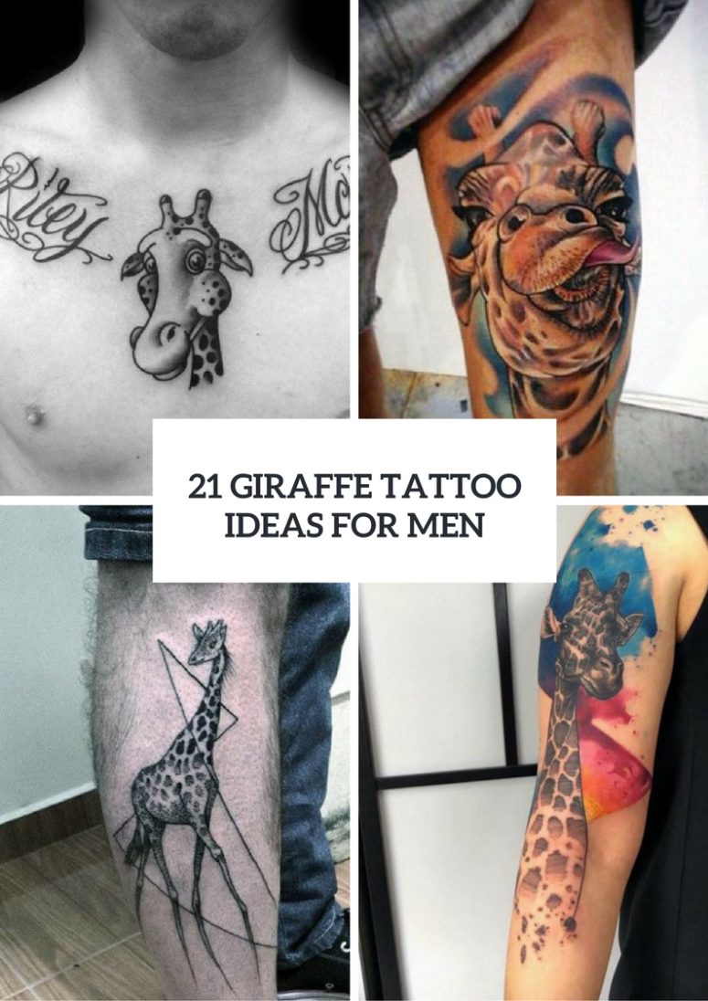 Giraffe Tattoo Design Ideas For Men