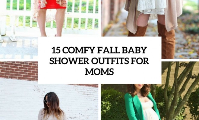 15 Comfy Fall Baby Shower Outfits For Moms Beauty