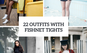Awesome Outfits With Fishnet Tights For Early Fall