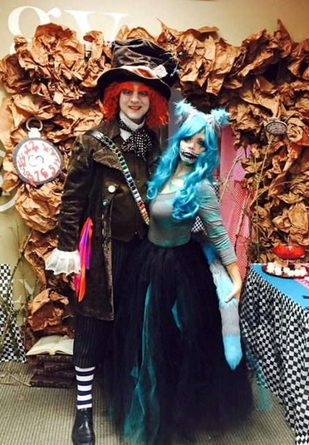 Incredible Mad Hatter costume idea