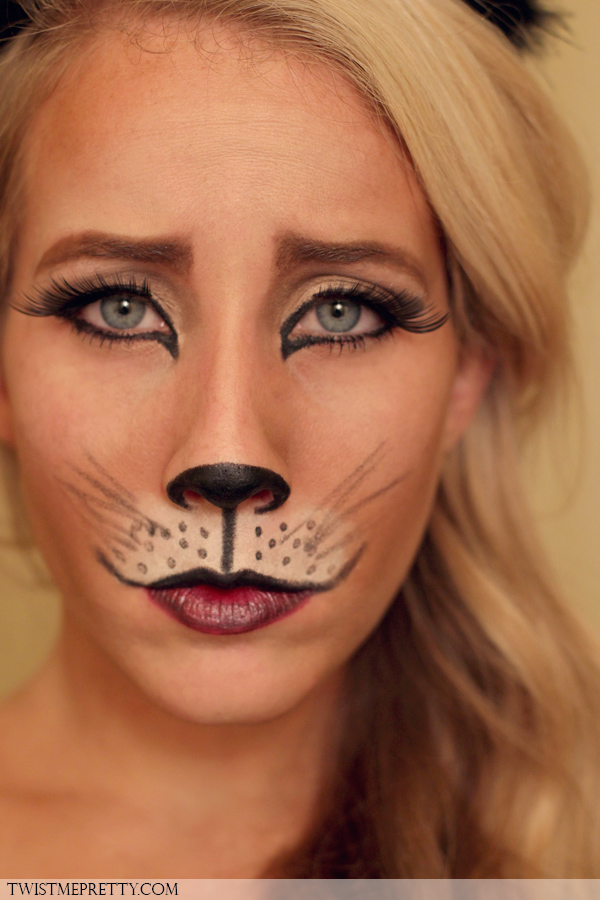 DIY kitty cat makeup (via https:)