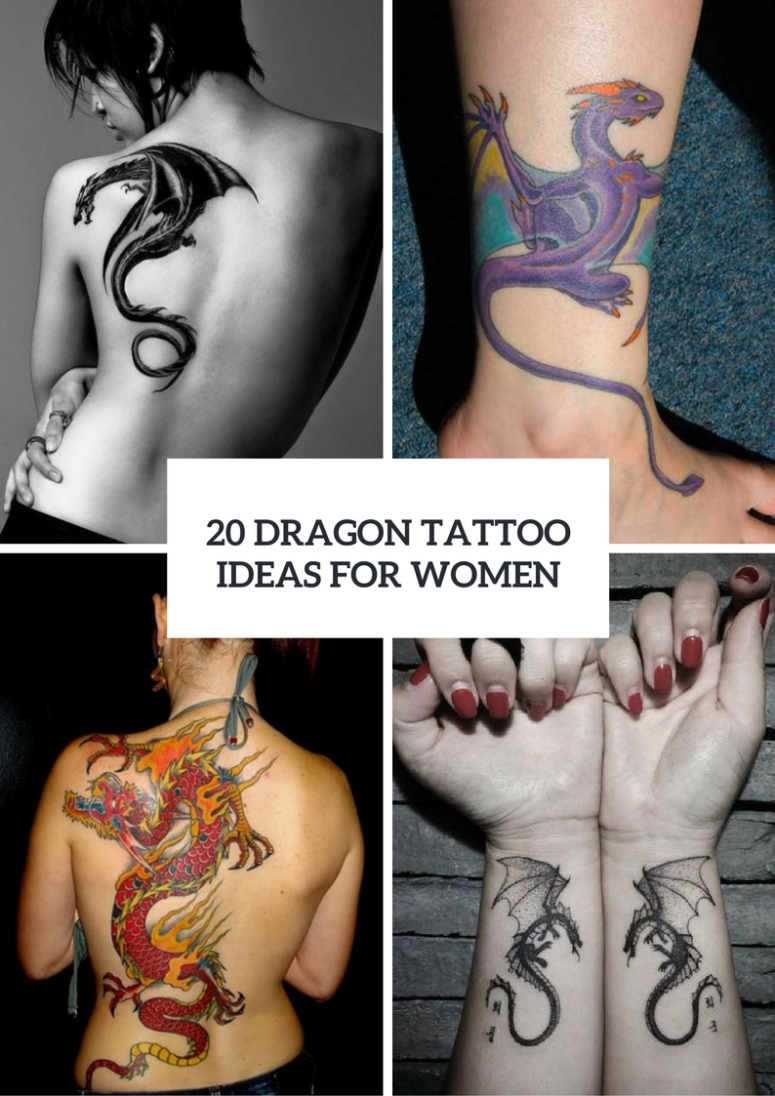 Dragon Tattoo Ideas For Ladies To Repeat