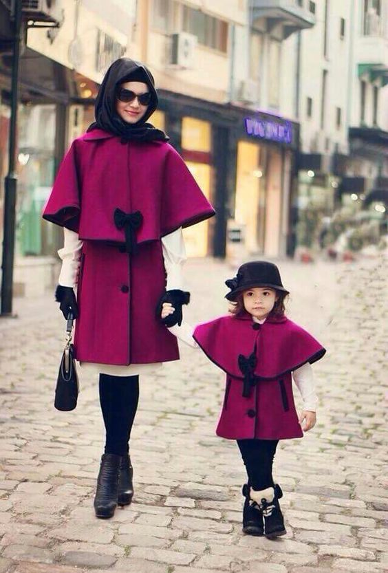 Pakistani Mother Daughter Outfits (9)