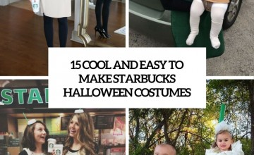 cool and easy to make starbucks halloween costumes cover