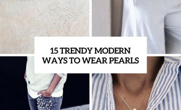 trendy modern ways to wear pearls cover
