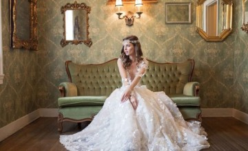 This romantic and elegant bridal shoot was inspired by Galia Lahav wedding gowns
