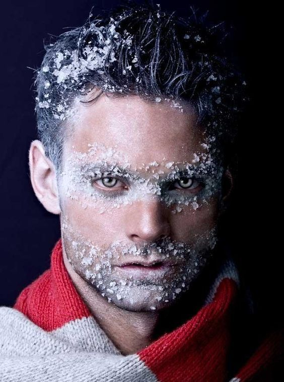 iceman costume is easy to make and you can add faux snow makeup