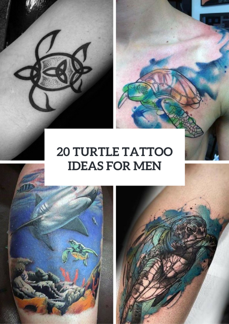 Interesting Turtle Tattoo Ideas For Guys