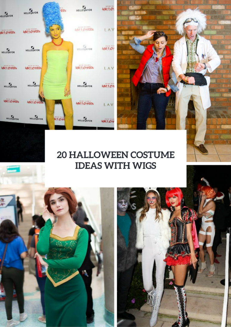 Halloween Costume Ideas With Wigs