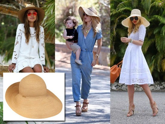 Straw Hat Outfit Ideas (20)