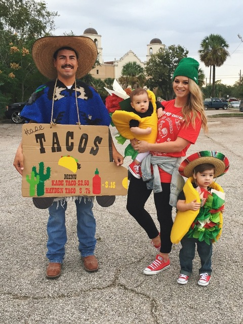 Tacos themed costumes