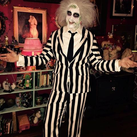 Cool Beetlejuice outfit idea