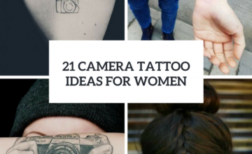 Amazing Camera Tattoo Ideas For Women