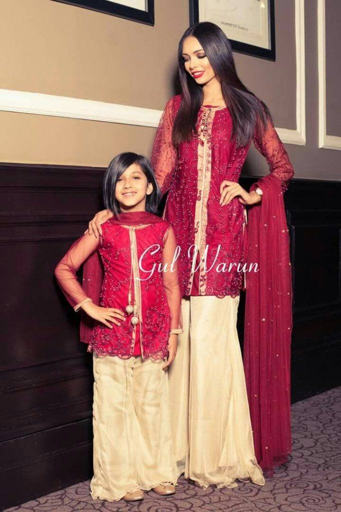 Pakistani Mother Daughter Outfits (12)