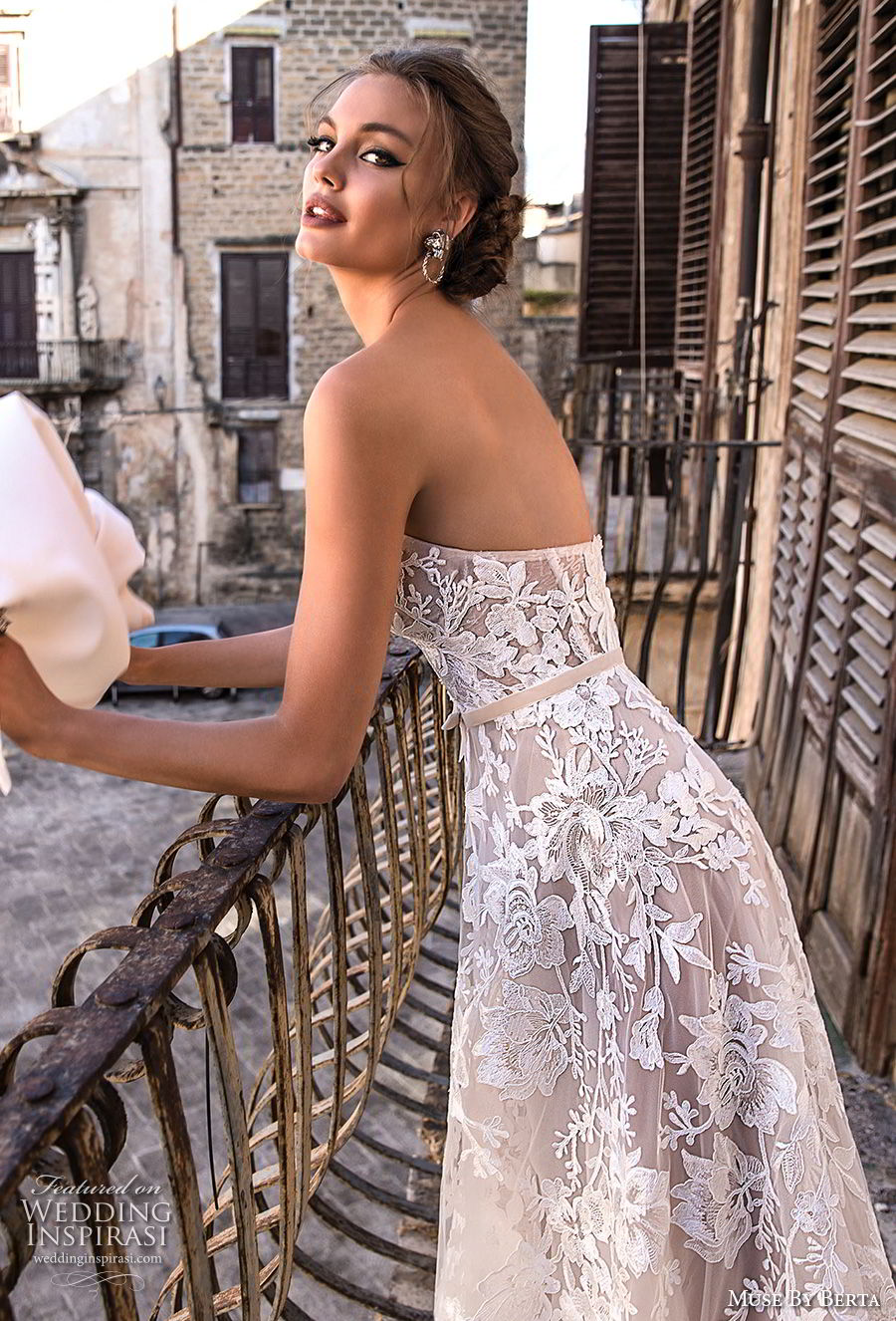 muse berta 2018 bridal strapless sweetheart neckline full embellishment romantic a line wedding dress medium train (11) sdv