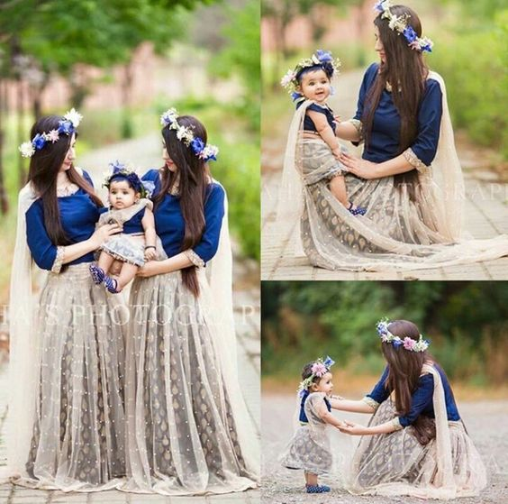 Pakistani Mother Daughter Outfits (5)