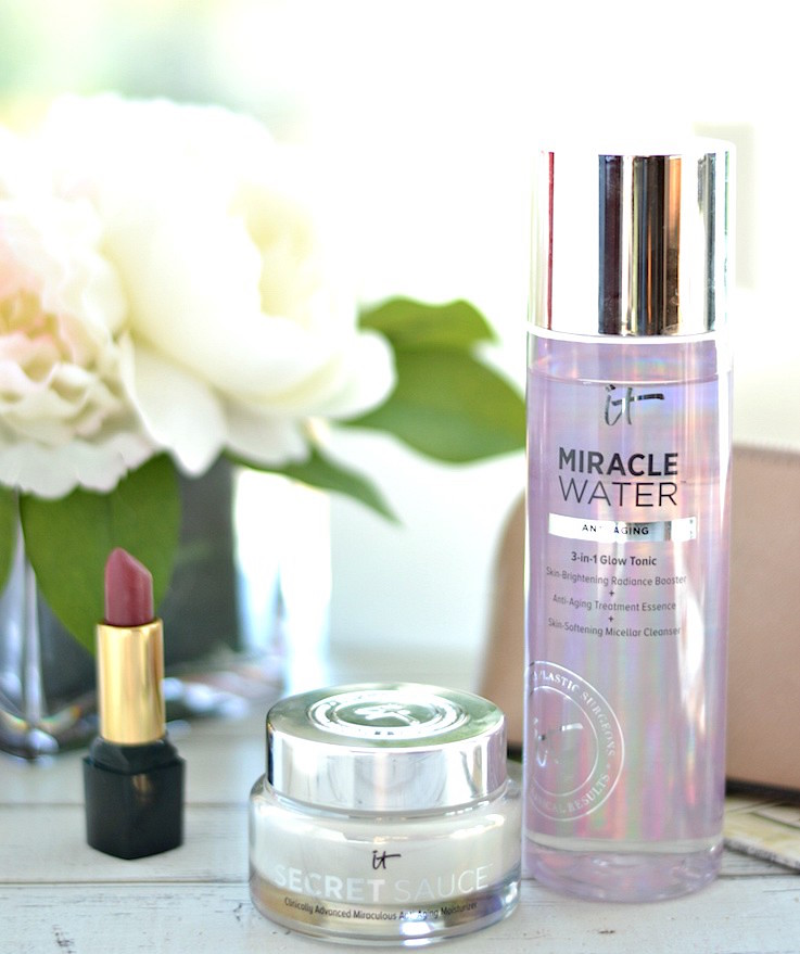 IT Cosmetics Secret Sauce Anti-Aging Moisturizer and Miracle Water