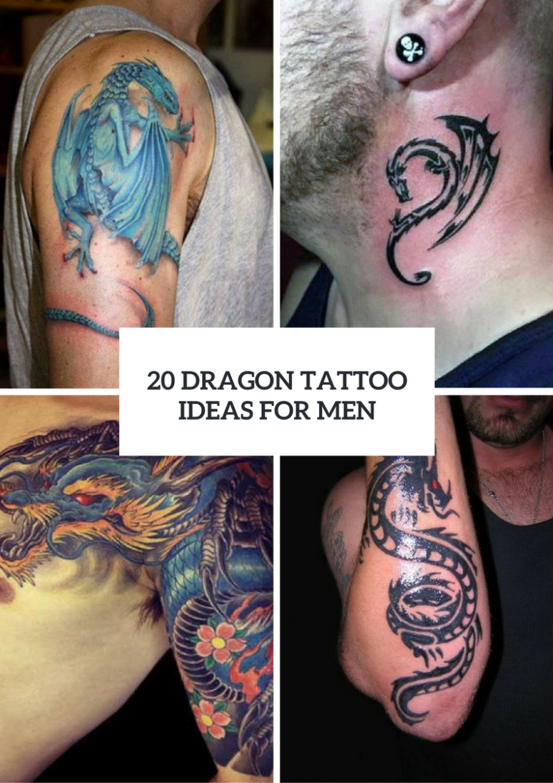 Dragon Tattoo Design Ideas For Men