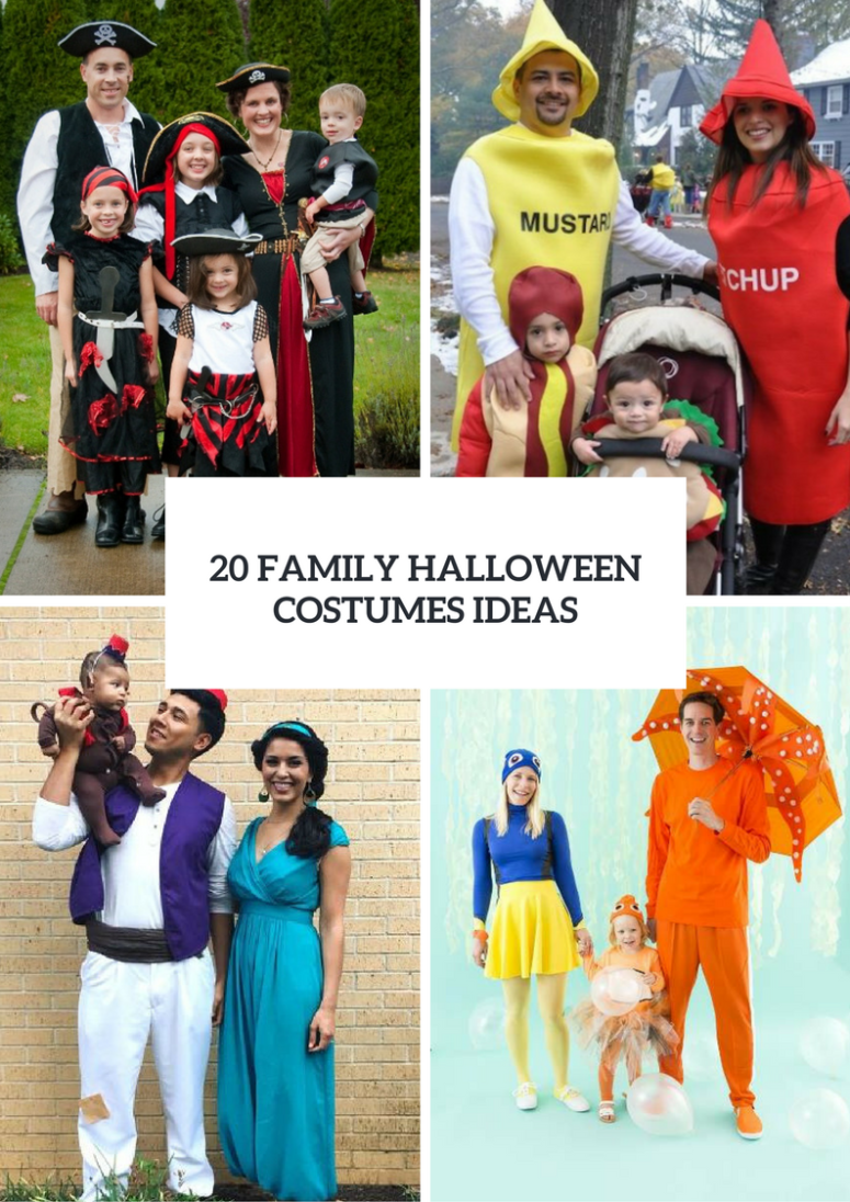 Family Halloween Costumes Ideas