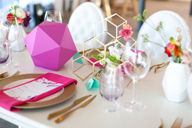 Geometric centerpiece