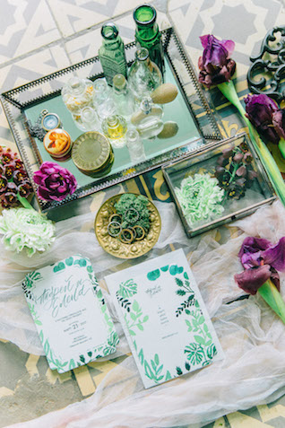 Greenhouse wedding details
