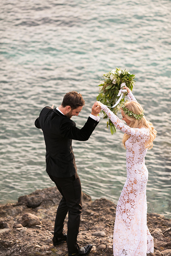 Athens Riviera Wedding Overlooking the Sea