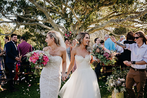 The most stunning flowers with protea in this same sex wedding #wedding #love #flowers