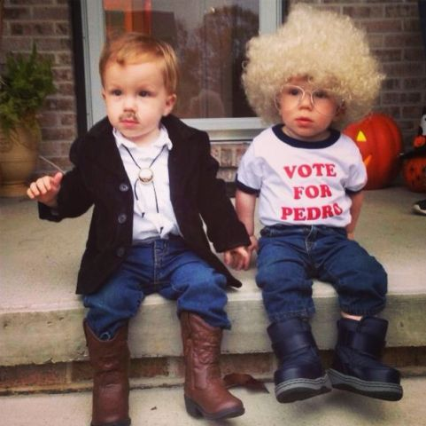 Napoleon Dynamite and Pedro costumes