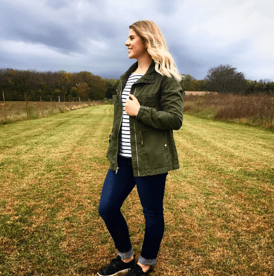 how to wear stripes in fall