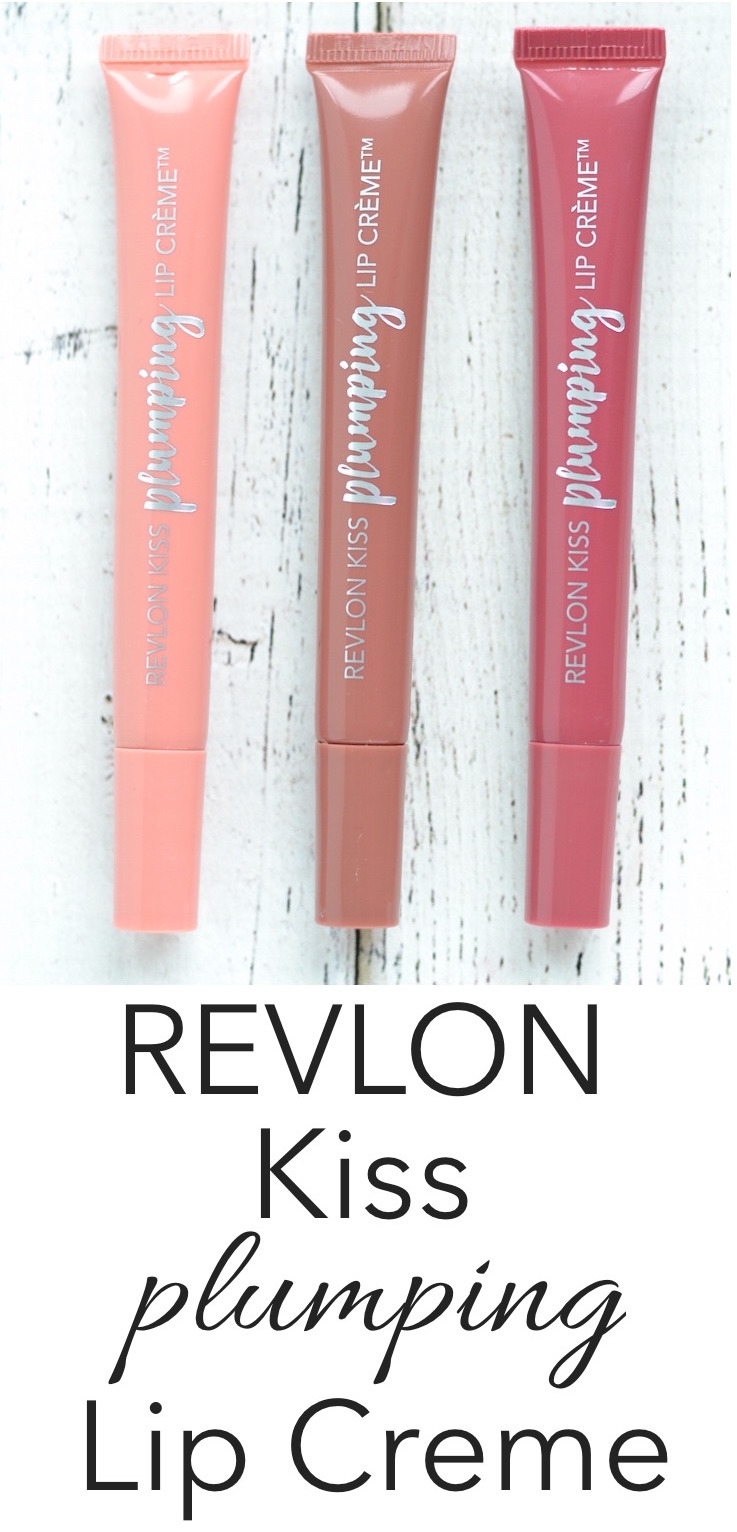 Revlon Kiss Plumping Lip Creme review and swatches