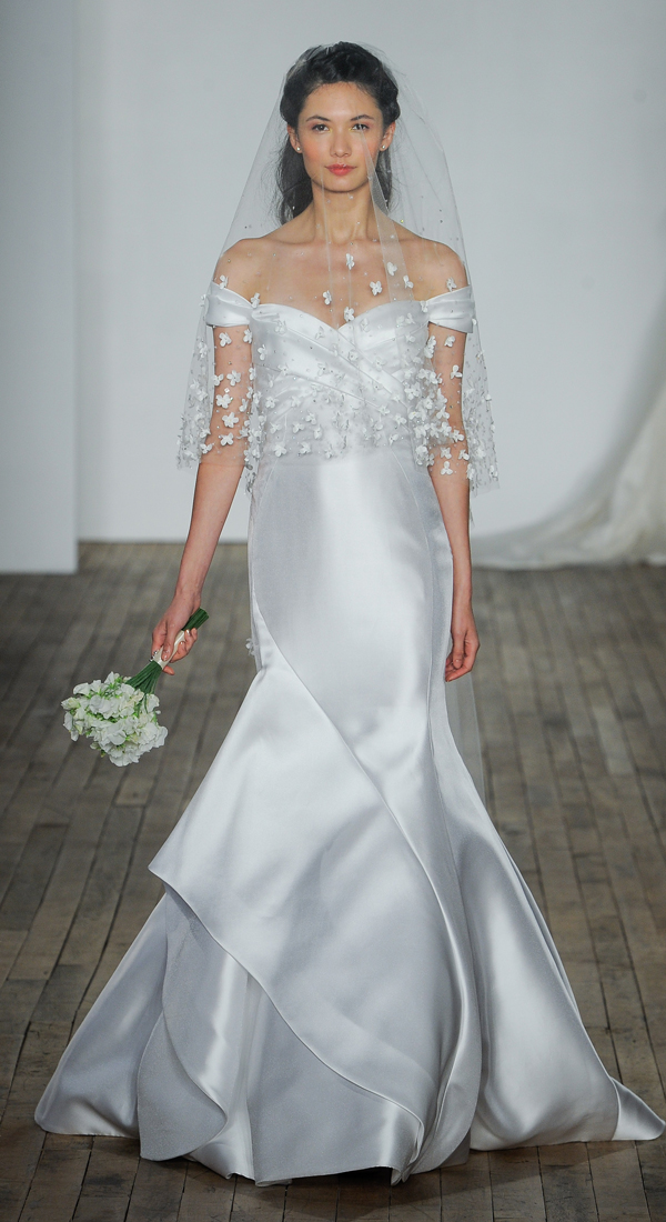 Romantic wedding dresses to swoon over #weddingdresses Allison Webb Runway 2018