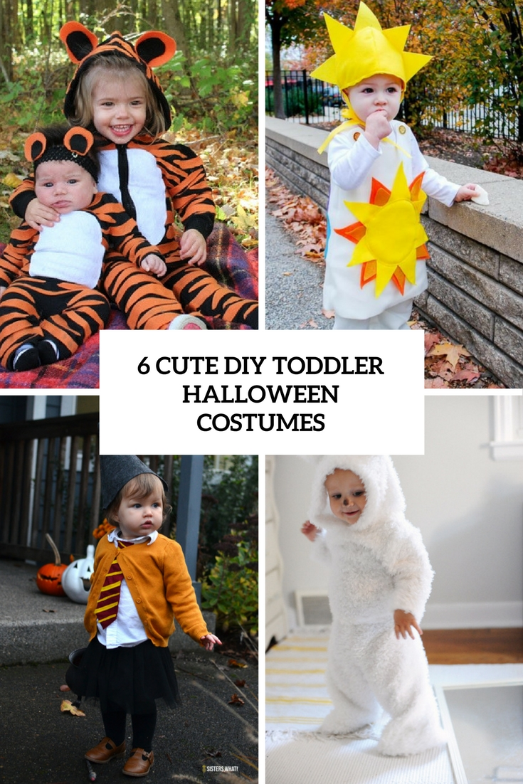 6 cute diy toddler halloween costumes cover