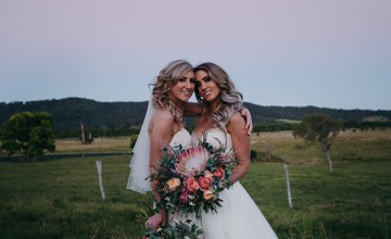 5e669  double beauty in this australian wedding with protea bouquets01.jpg