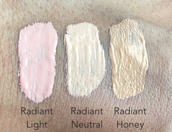IT Cosmetics Perfect Lighting Radiant Touch Magic Wand Swatches - Radiant Light, Radiant Neutral and Radiant Honey