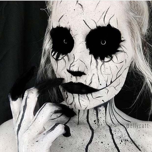 Scary Halloween Makeup for Mind-Blowing Halloween Makeup Looks
