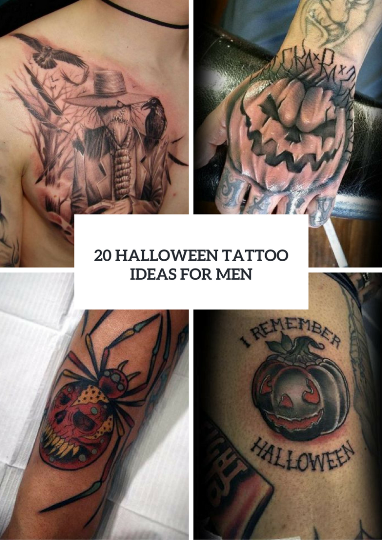 Halloween Tattoo Ideas For Men To Try