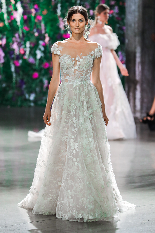 2018 Galia Lahav Collections at NYBFW Runway