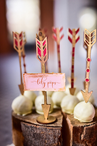 Arrow wedding ideas