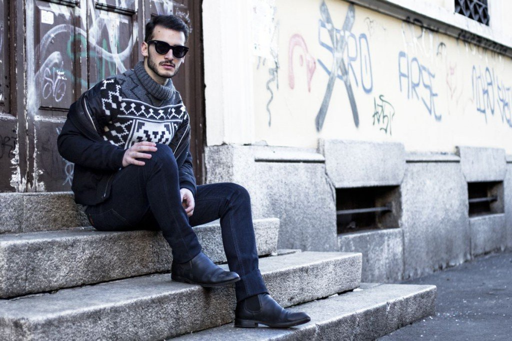turtleneck outfits for men