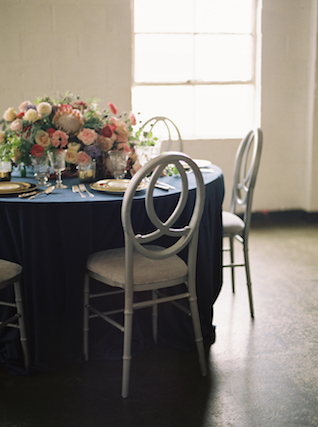 Summery indoor reception