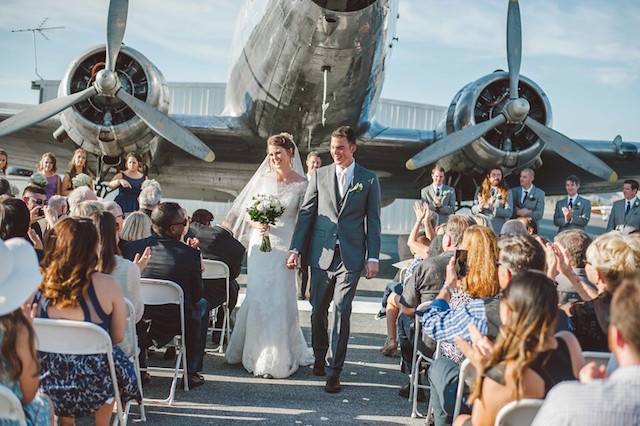 Airport wedding ideas